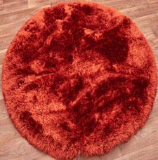 Plush Circle Rugs