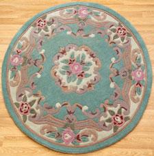 Lotus Round Rugs