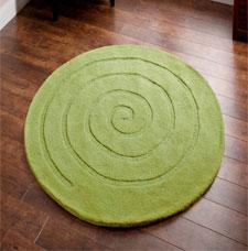 Spiral Round Rugs