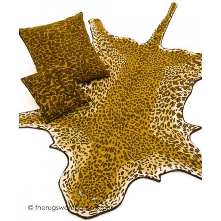 Leopard Shaped Rug