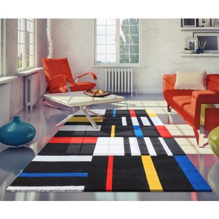 Colourful Matrix Rug