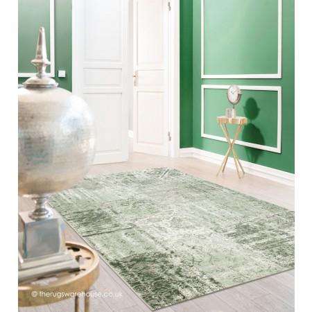 Amalfi Green Rug.
