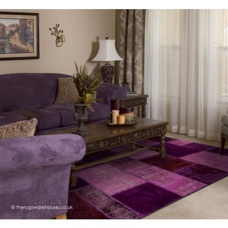 Antalya Purple Rug