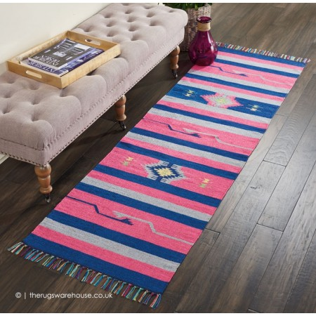 Baja Stripes Pink Runner