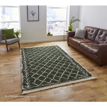 Fez Green Rug