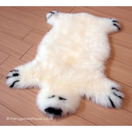 Ivory Bear Rug