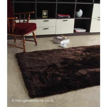 Longwool Choco Rug