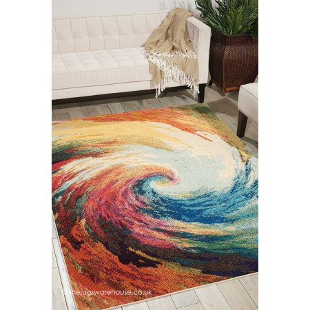 Celestial Waves Rug