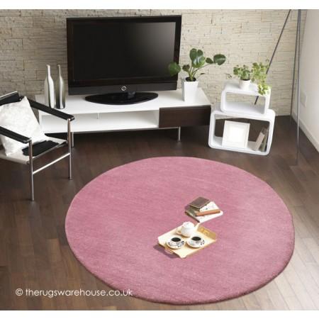 Comfort Lavender Circle Rug