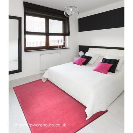 Home Comfort Raspberry Rug