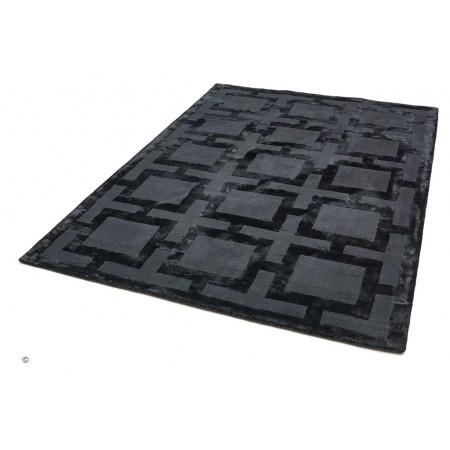 Eaton Black Rug