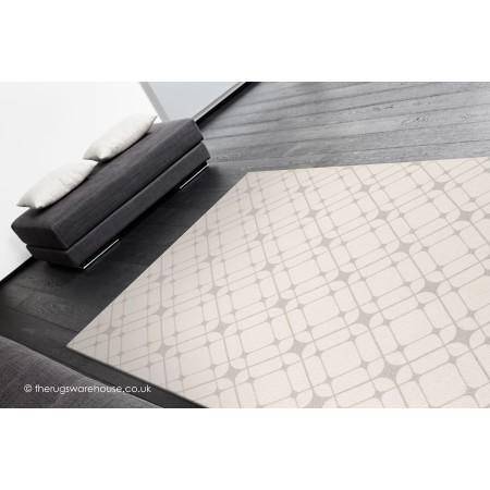 Linear Ivory Rug