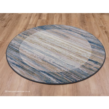 Fabricano Blue Circle Rug