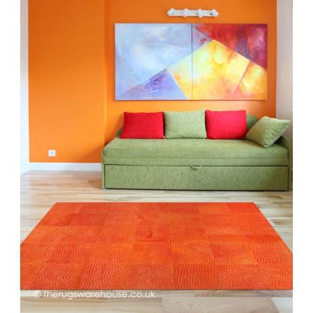 Rivoli Orange Rug