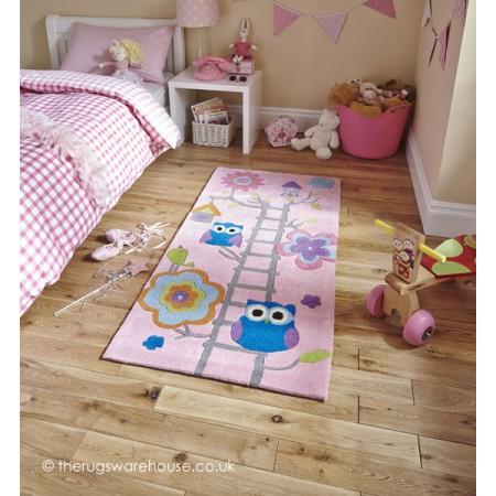 Owl House Pink Rug