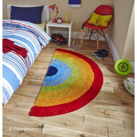 Shiny Rainbow Rug