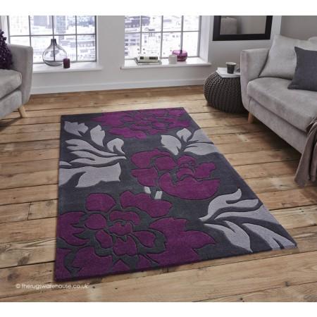 Soma Purple Rug