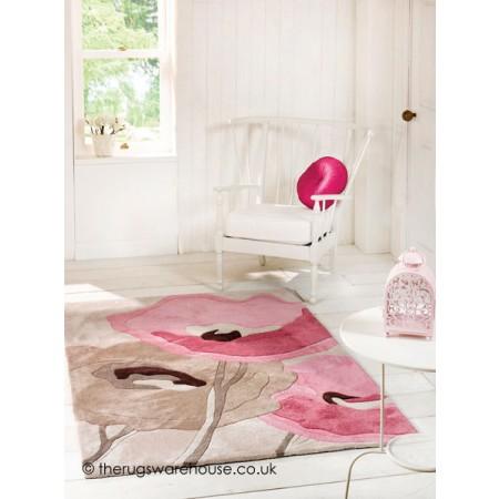 Poppy Pink Rug