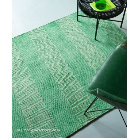 Ives Green Stripes Rug