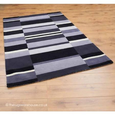 Charcoal Blocks Rugs