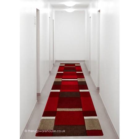 Red Blocks Runner