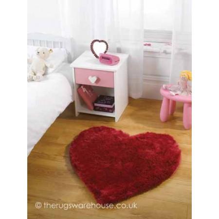 Bright Pink Cupid Rug