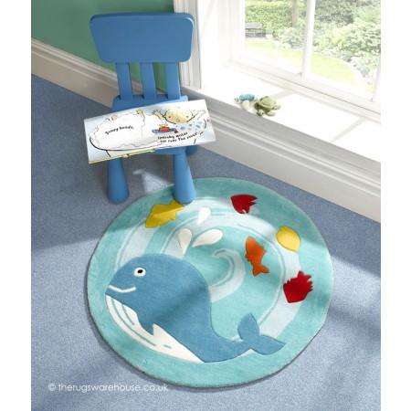 Whale Play Rug