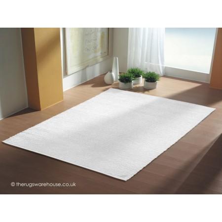 Kyoto White Rug
