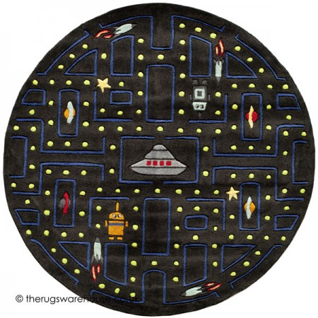 Arcade Circle Rug