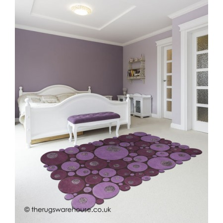 Limouge Purple Rug