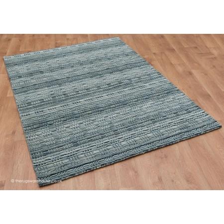 Loomed Gabbeh Grey Rug