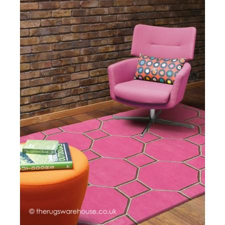 Cassin Pink Rug