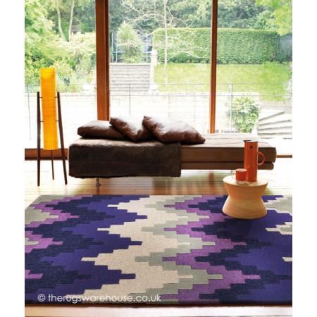Cuzzo Purple Rug