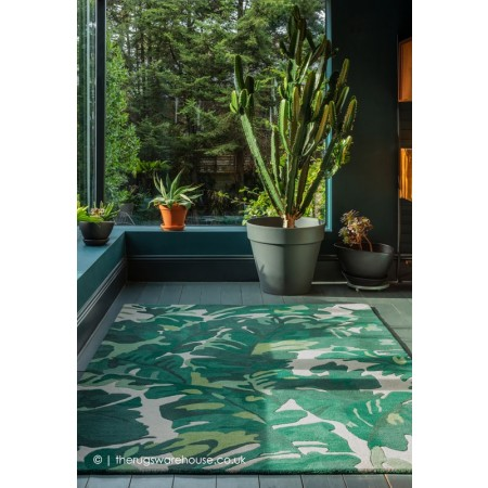 Palm Green Rug
