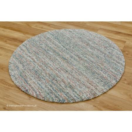 Dunya Light Mix Circle Rug