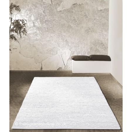 Melbourne White Rug