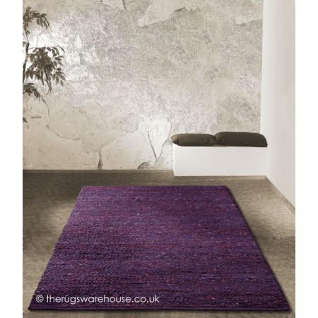 Melbourne Purple Rug