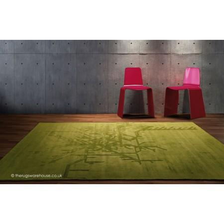 Metropolitan Green Rug