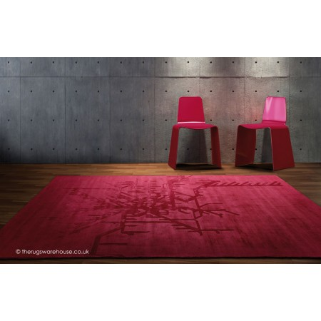 Metropolitan Red Rug