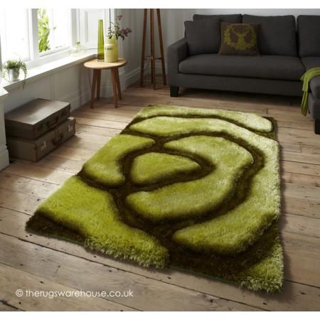 Lavella Green Rug