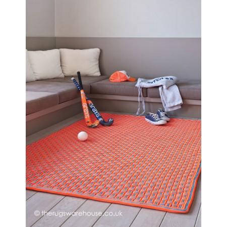 Tokyo Orange Rug