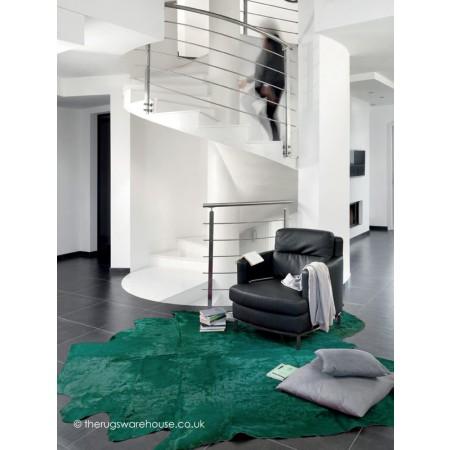 Colorata Green Rug
