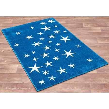 All Star Blue Rug