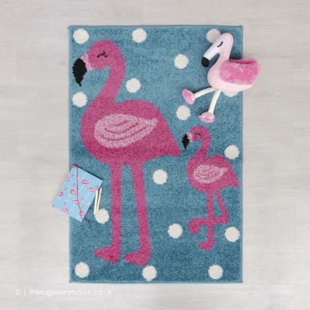 Little Flamingo Rug