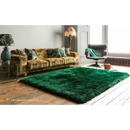 Plush Emerald Rug