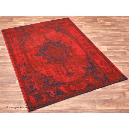 Revive Vintage Red Rug