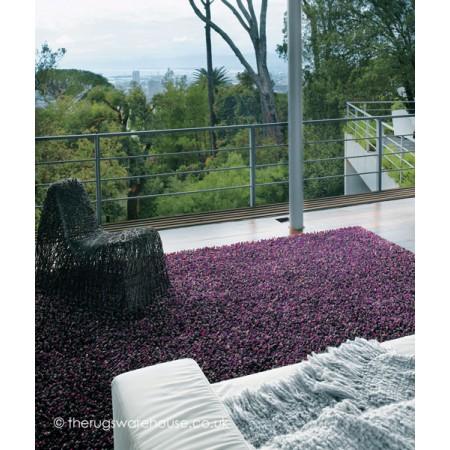 Rocks Purple Rug
