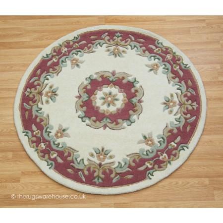 Royal Ivory Rose Circle
