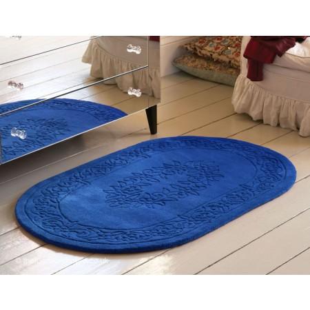 Royale Blue Oval Rug