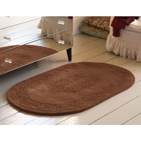 Royale Choco Oval Rug